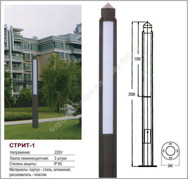 Светильники серии ВАД81 для компактных люминесцентных